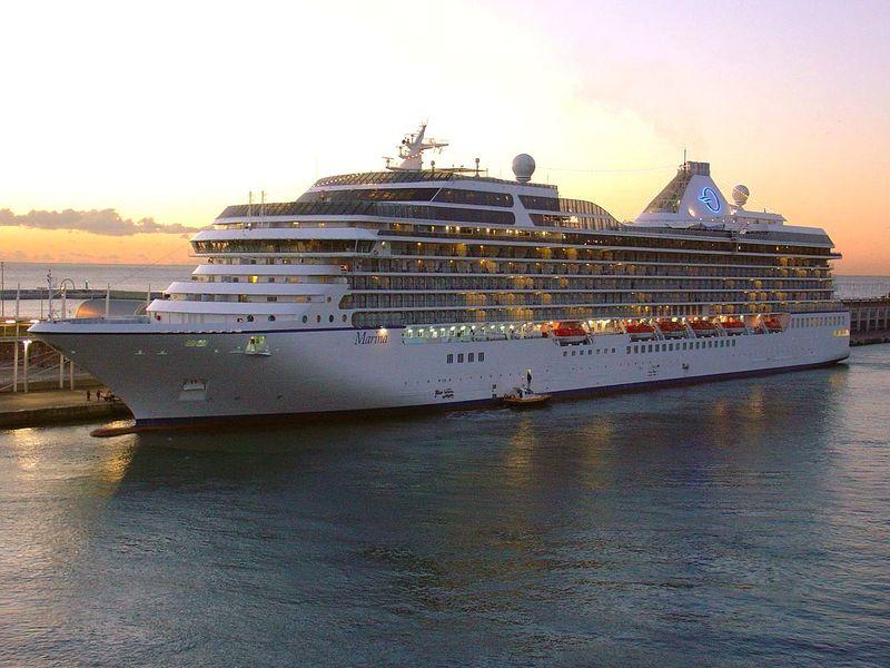 ... Until the Savvy Seafarer Sails on Oceania's Marina   Savvyseafarer