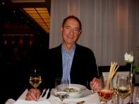 Richard at dinner