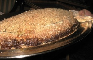 Sabatini's salt crusted branzino