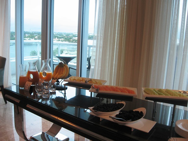 Stopping at the Ritz-Carlton Fort Lauderdale