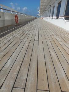 Teak Promenade deck
